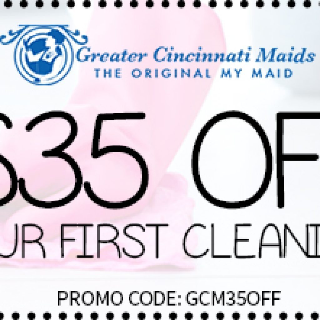 Maid Service Coupon Cincinnati